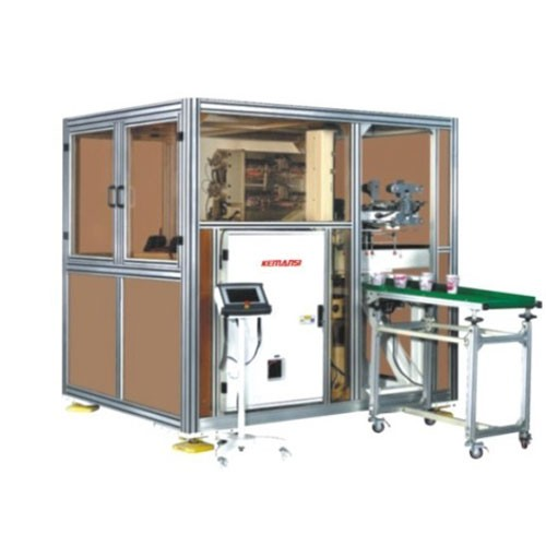 In Mold Labelling Robot